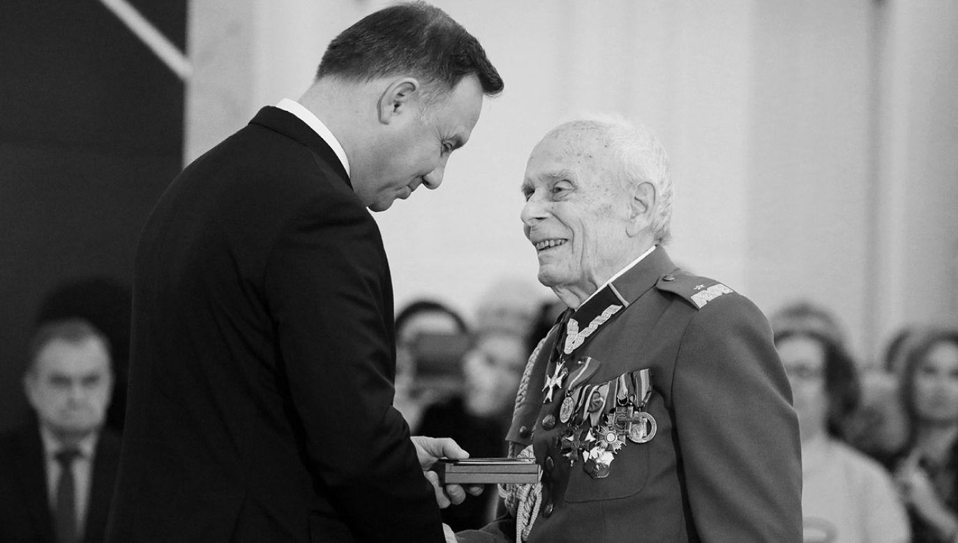 Przez wiele lat prowadził aktywną działalność społeczno–kombatancką (fot. arch.PAP/Paweł Supernak)
