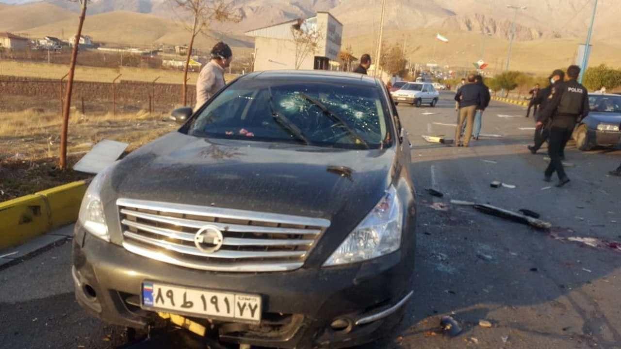 """Fakhrizadeh był uważany przez rząd Izraela za szefa irańskiego programu nuklearnego """"Amad"""" (fot. PAP/EPA/IRIB HANDOUT)"""