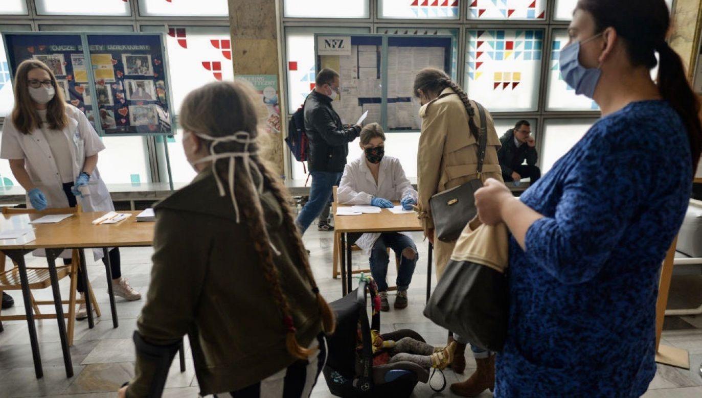 Na Mazowszu jest już 1760 ozdrowieńców (fot. Artur Widak/NurPhoto via Getty Images)