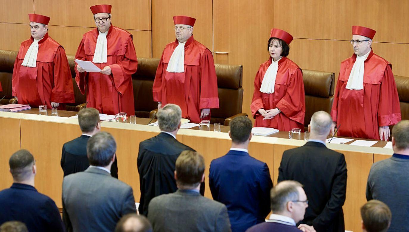 Decyzja niemieckiego TK (fot. M.Hangst/Getty Images)