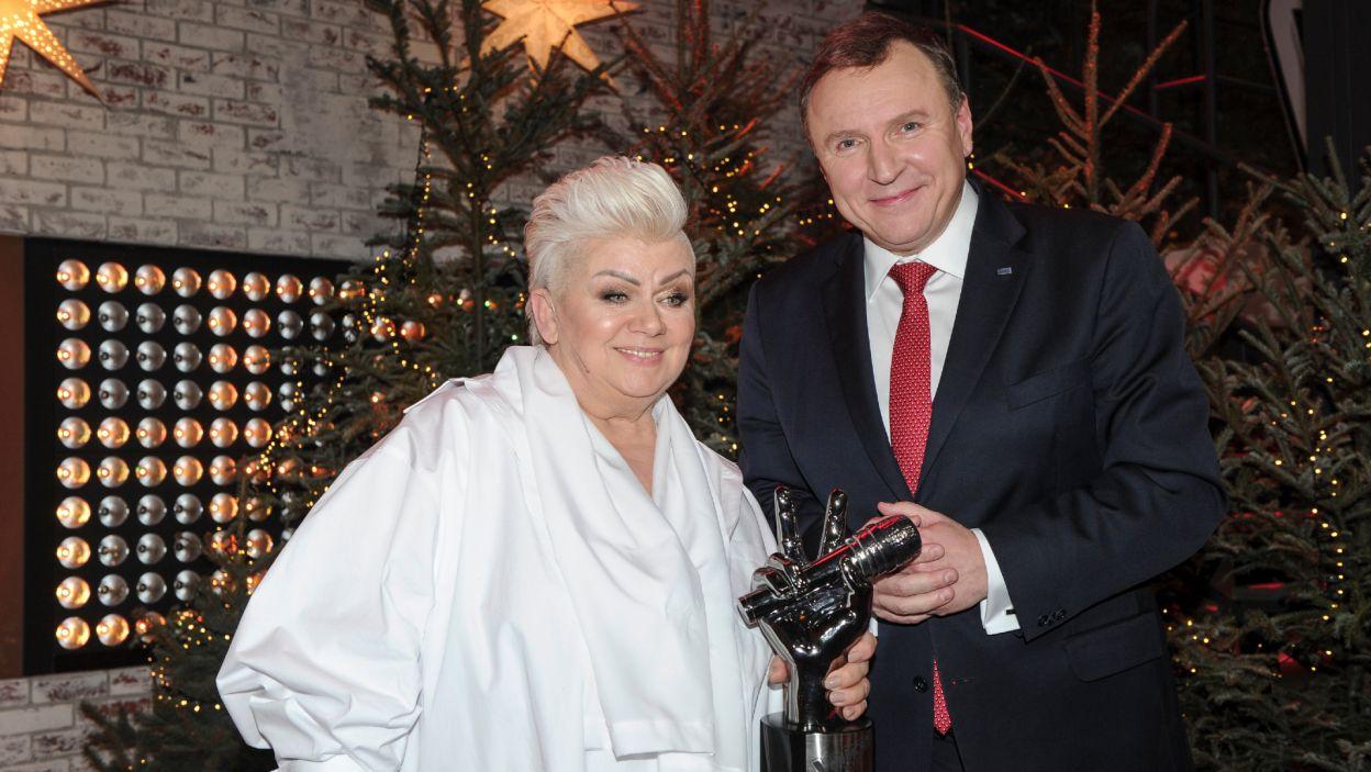 Dzięki zaproszeniu od prezesa zarządu Telewizji Polskiej, Jacka Kurskiego, zwyciężczynię usłyszymy po raz kolejny już w najbliższą sobotę podczas Koncertu Walentynkowego (fot. TVP)