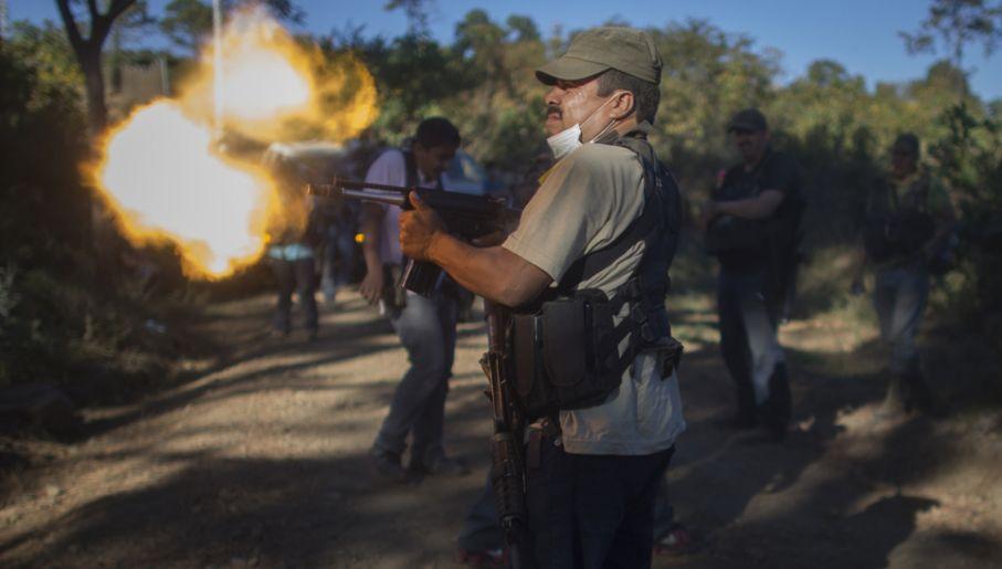 W Meksyku toczy się wojna domowa (fot. Miguel Tovar/LatinContent/Getty Images)