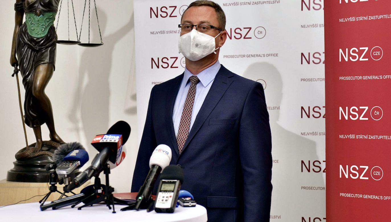 Dymisja prokuratora generalnego Czech (fot. arch.PAP/CTK)