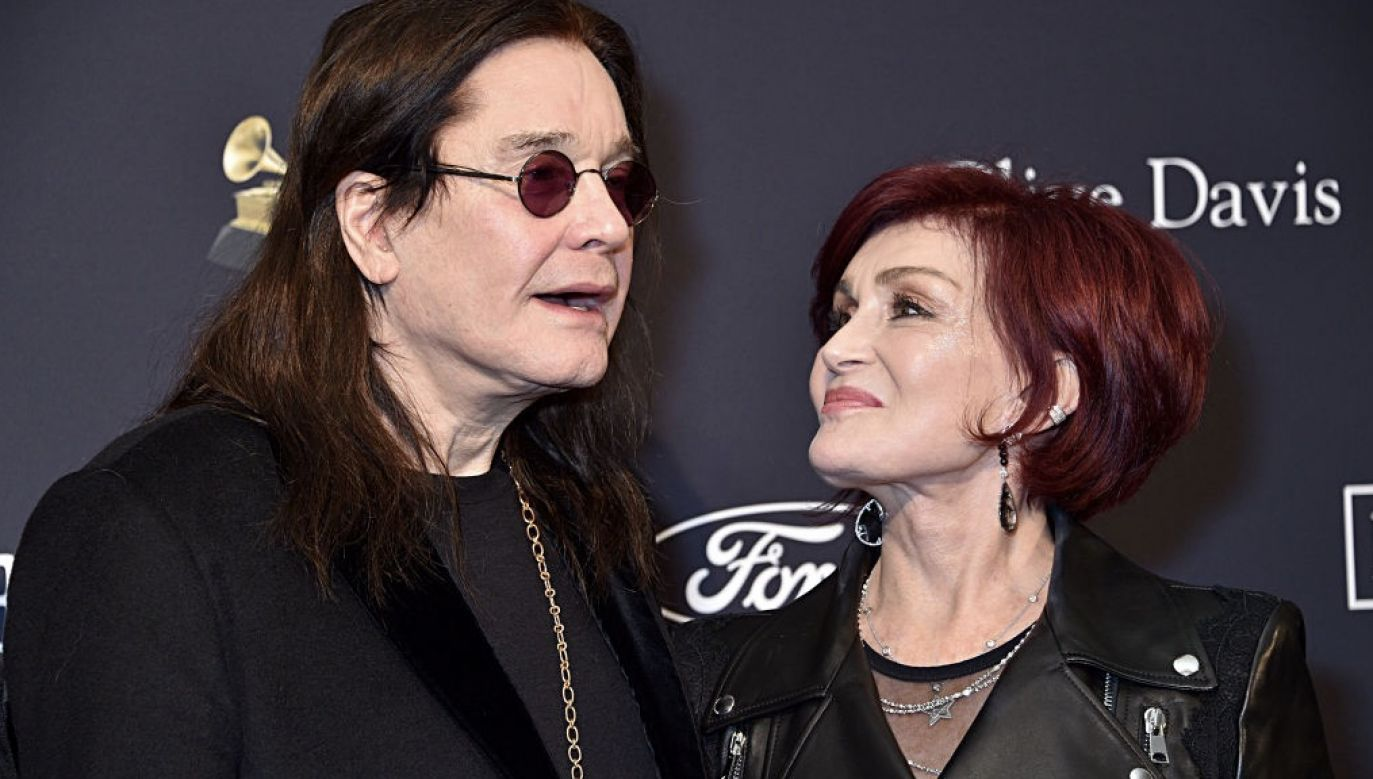 Ozzy Osbourne z żoną Sharon (fot. Gregg DeGuire/Getty Images for The Recording Academy)