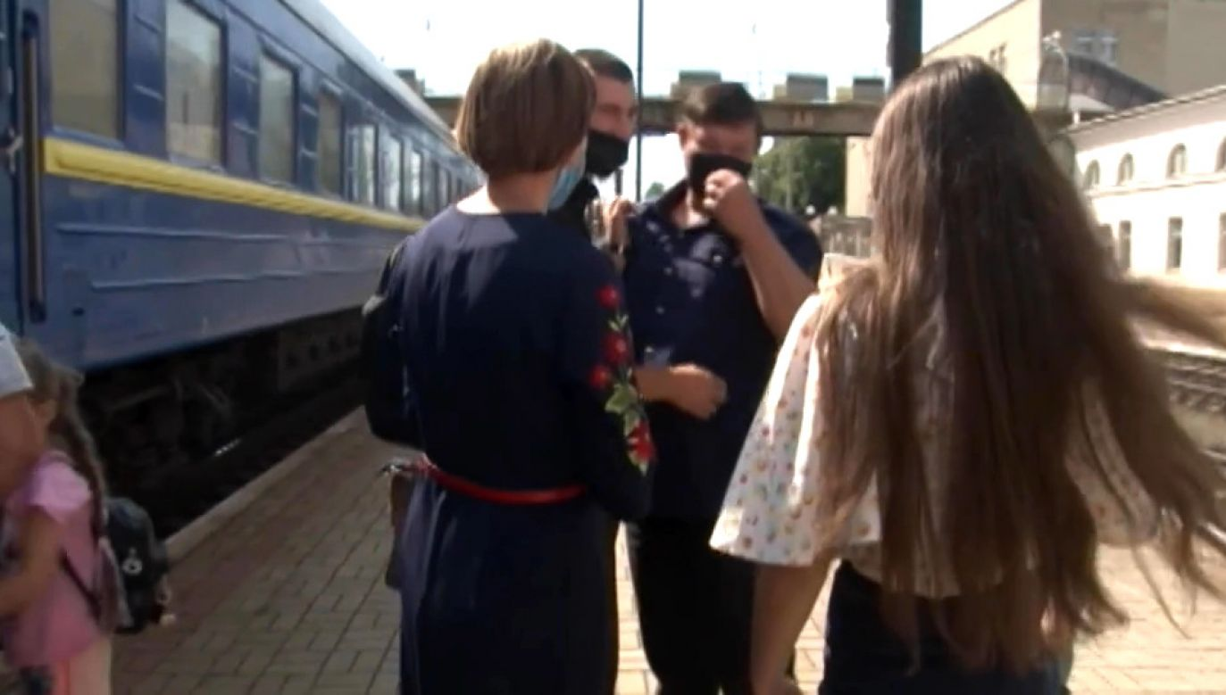 Pociągi długodystansowe mają zakaz zatrzymywania się w Tarnopolu (fot. UAPBC/PUBLIC BROADCASTING COMPANY OF UKRAINE)