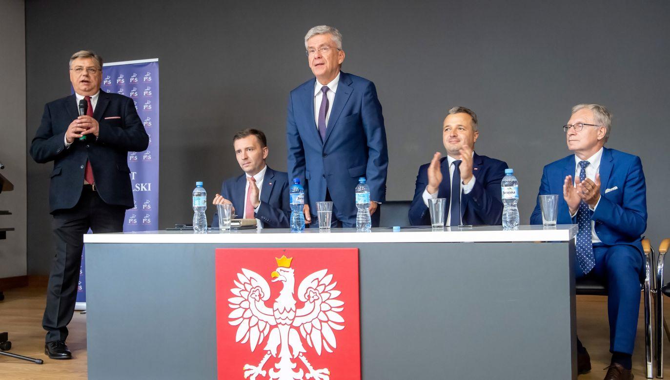 """Karczewski zapowiada, że """"za dość krótki czas poprawi się sytuacja w służbie zdrowia"""" (fot. PAP/Tytus Żmijewski)"""