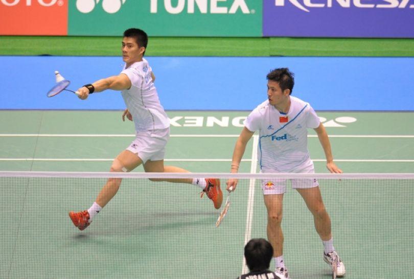 Gwiazdy gry podwójnej - Chińczycy Cai Yun i Haifeng Fu (fot. Getty Images)