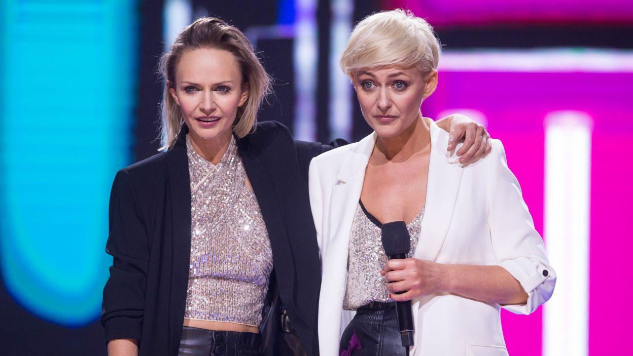 Jurorzy mieli trochę uwag do ich występu. – Kasia, zapominałaś choreografii! – zauważyła Ida (fot. J. Bogacz/TVP)