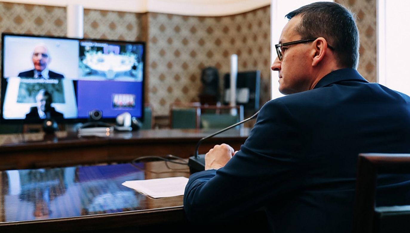 Rekonstrukcja rządu nie obejmie premiera Mateusza Morawieckiego (fot. Krystian Maj/KPRM)