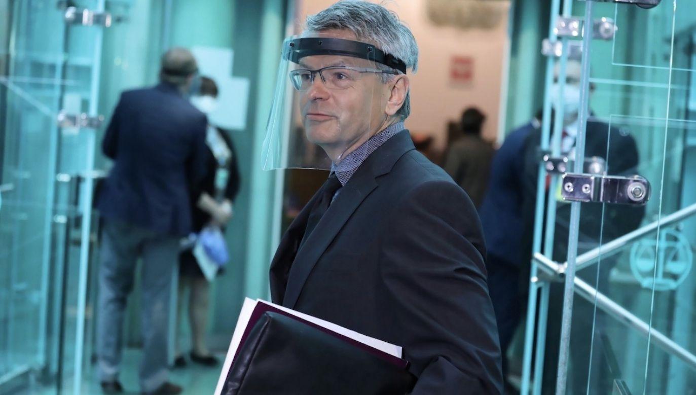 Zdaniem Rafała Trzaskowskiego, to właśnie sędzia Wróbel powinien zostać powołany na stanowisko I prezesa SN (fot. PAP/Tomasz Gzell)