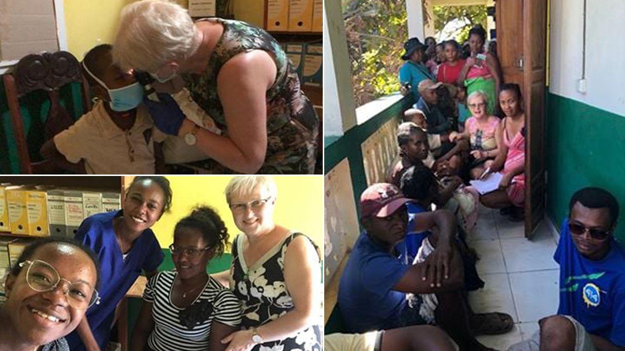 Celem misji była pomoc osobom dotkniętym trądem (fot. FB/Polska Fundacja dla Afryki)