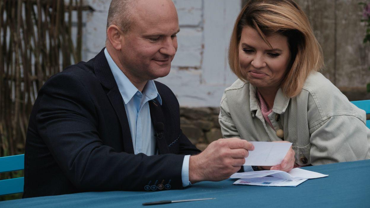 Waldemar kilka razy miał naprawdę twardy orzech do zgryzienia (fot. TVP)
