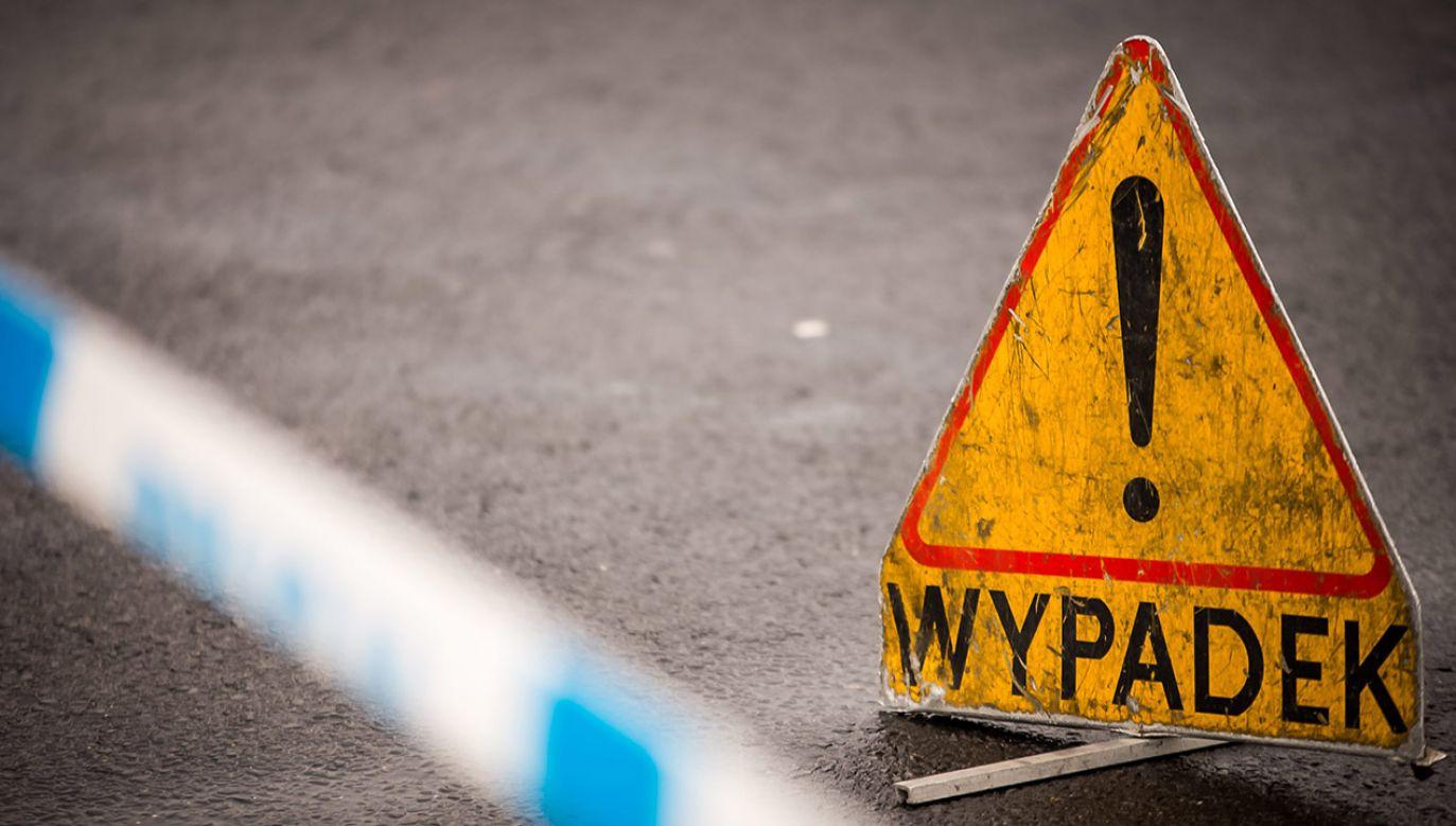 Trzy osoby zostały poszkodowane (fot. arch.PAP/Tytus Żmijewski)