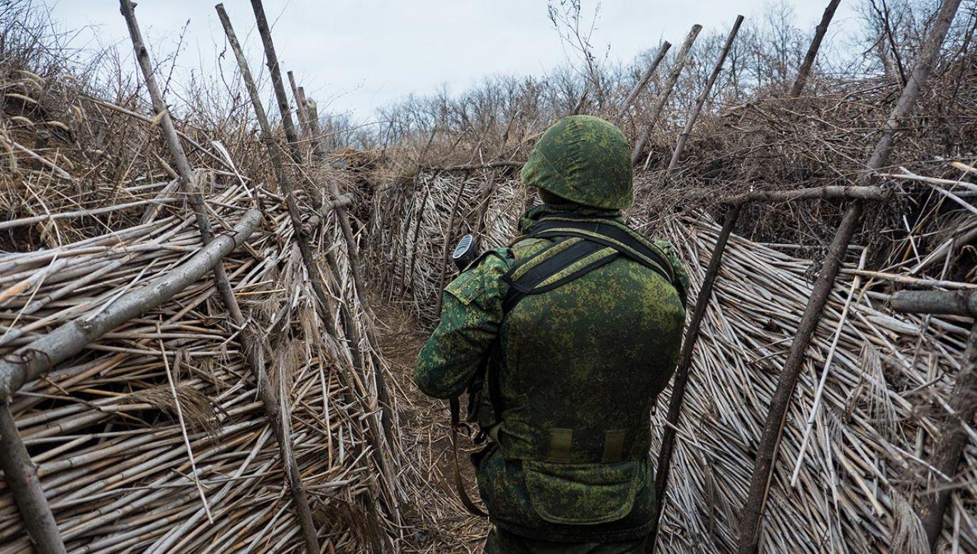 Zatrzymanie pięciu osób ws. walk na wschodniej Ukrainie (fot. Martin Trabalik/SOPA Images/LightRocket via Getty Images, zdjęcie ilustracyjne)