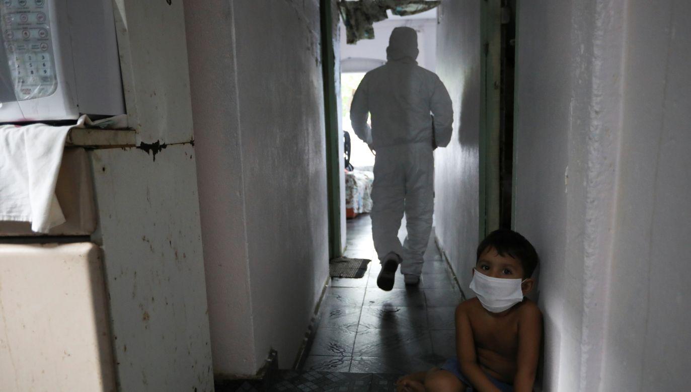 Brazylia należy do krajów najmocniej dotkniętych przez epidemię (fot. Bruno Kelly/Reuters)