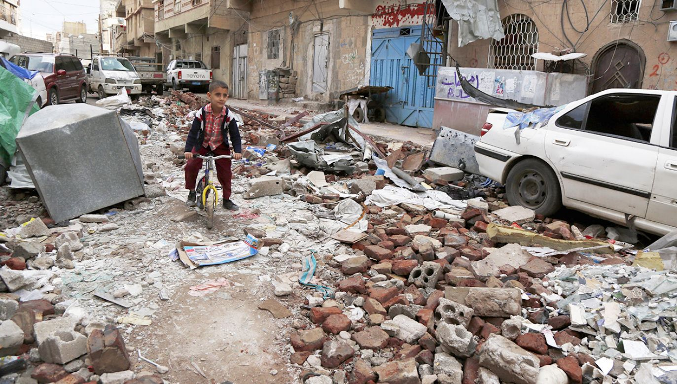 W zeszłym roku ponad 70 mln osób zostało zmuszonych do uchodźstwa (fot. Mohammed Hamoud/Getty Images)