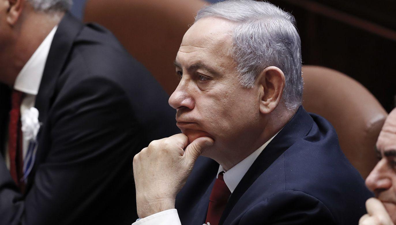 Lider Likudu rezygnuje ze starań o utworzenie nowej administracji (fot. PAP/EPA/ATEF SAFADI0