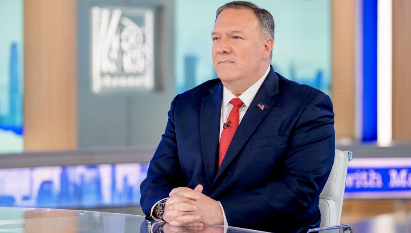 Mike Pompeo (fot. Roy Rochlin/Getty Images)