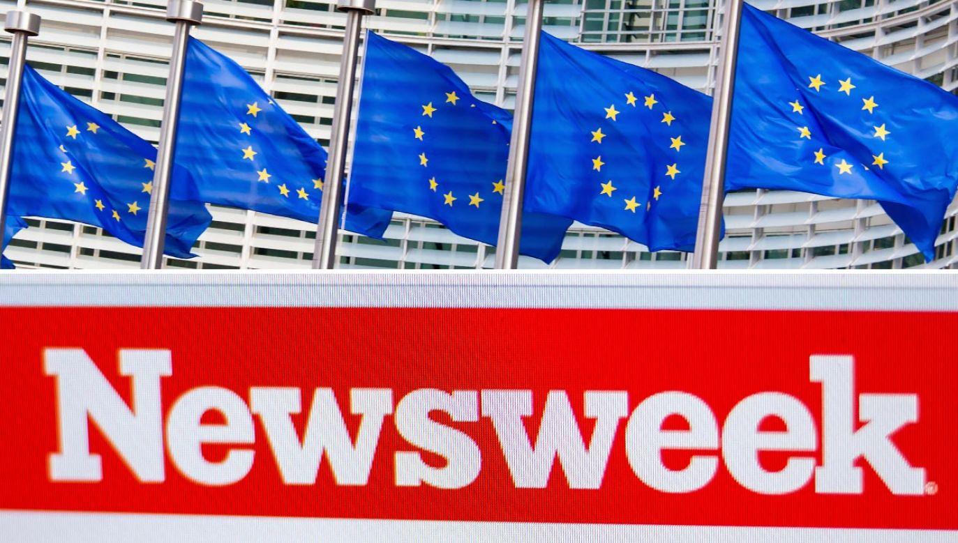 """Artykuł krytyczny wobec działań UE opublikowano w amerykańskim wydaniu """"Newsweeka"""" (fot. Shutterstock/jorisvo, Sharaf Maksumov)"""
