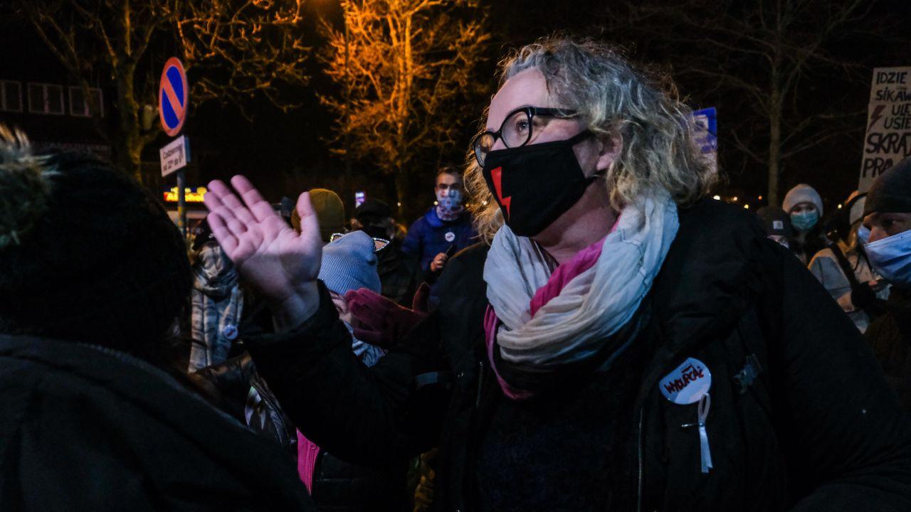 Marta Lempart, liderka Strajku Kobiet (fot. Omar Marques/Getty Images)