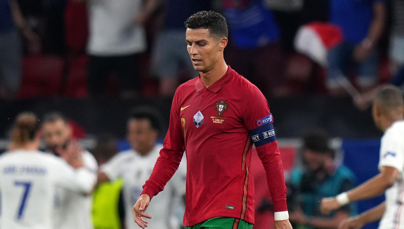 Cristiano Ronaldo już w półfinale może znów spotkać się z Francuzami (fot. Getty)