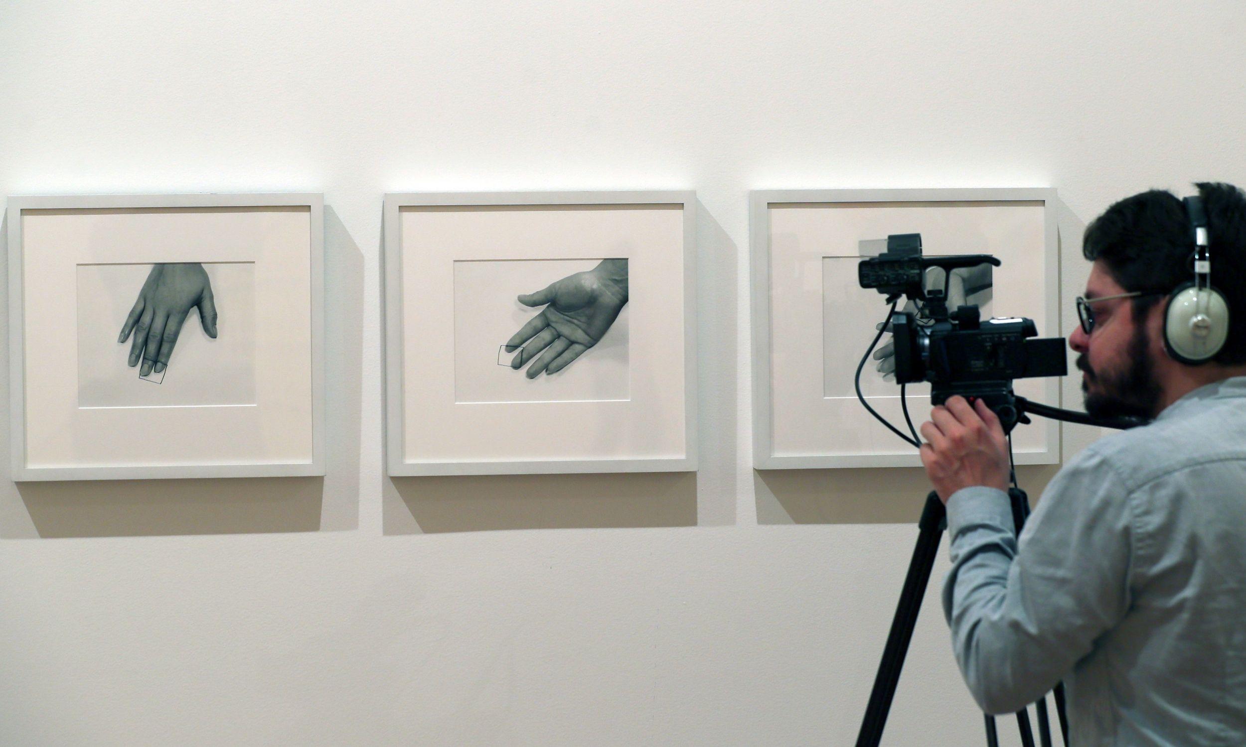 Wystawa artystki w Bogocie. Fot. PAP/EPA/ MAURICIO DUENAS CASTANEDA