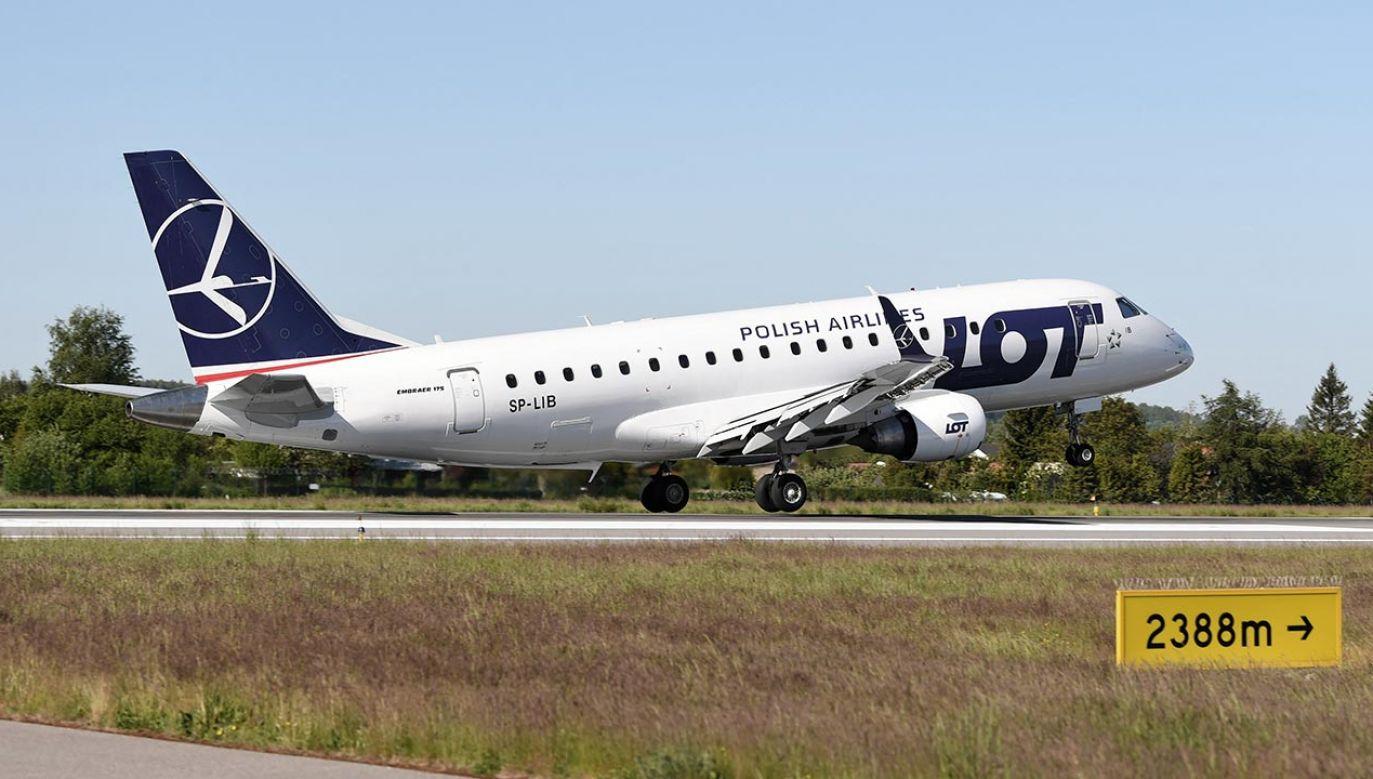 Port lotniczy Olsztyn-Mazury już teraz jest gotowy na wznowienie połączeń (fot. PAP/Adam Warżawa)