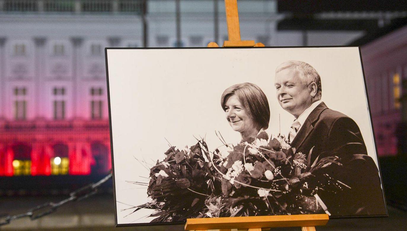 Lech Kaczyński i jego małżonka Maria zginęli 10 kwietnia 2010 roku (fot.  Artur Widak/NurPhoto via Getty Images)