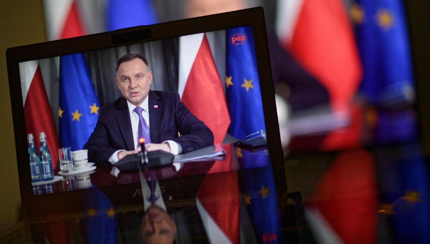 Prezydent Andrzej Duda(fot. PAP/Marcin Obara)