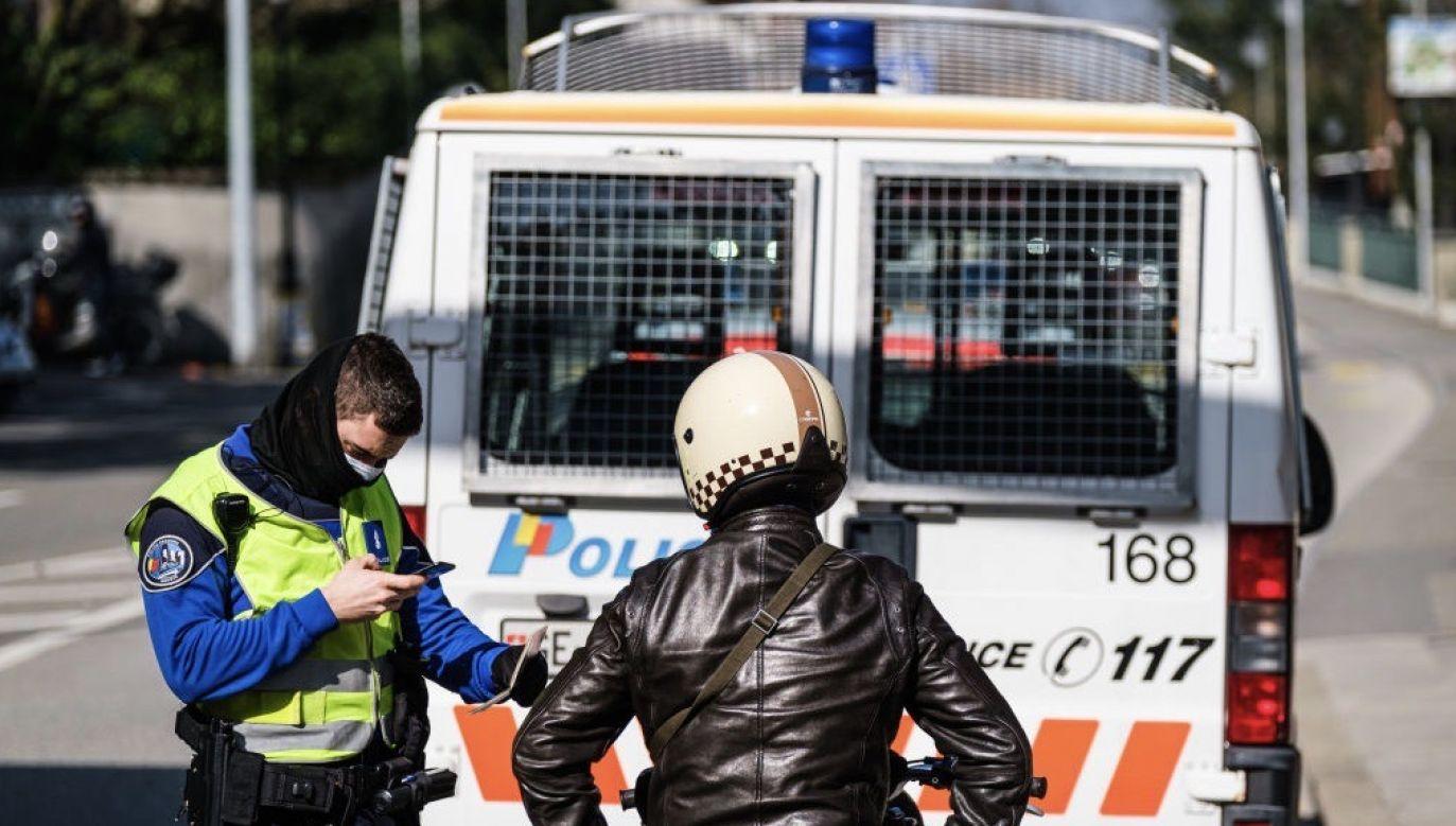 Policja nie wyklucza podłoża terrorystycznego ataku (fot. Richard Bord/Getty Images, zdjęcie ilustracyjne)