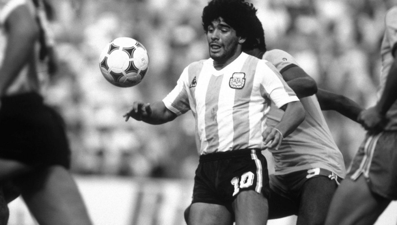 Diego Maradona zmarł w wieku 60 lat (fot. Getty Images)