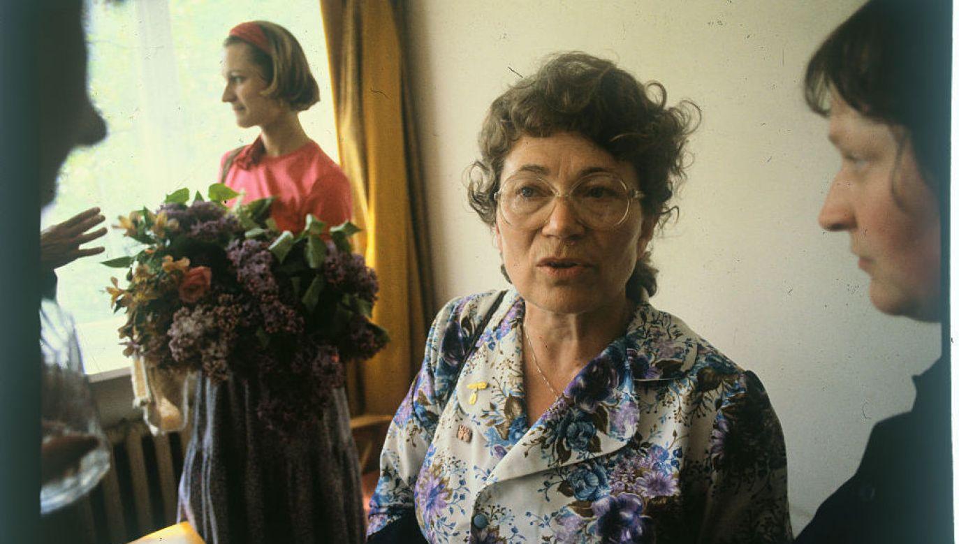 Anna Walentynowicz zginęła 10 kwietnia 2010 w Smoleńsku (fot. GettyImages/ Bettmann)
