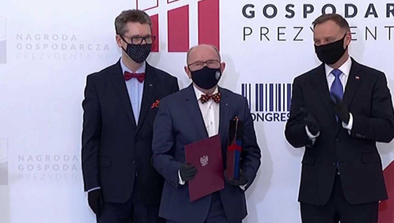 Gala XVIII edycji Nagrody Gospodarczej Prezydenta RP (fot. TVP)