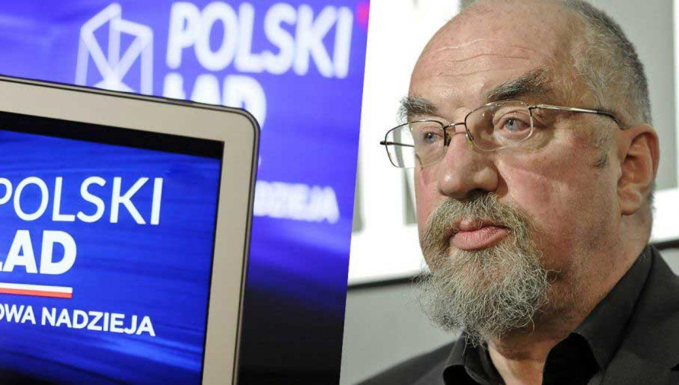 Prof. Witold Modzelewski o rewolucji podatkowej w programie Polski Ład (fot. PAP/Marcin Obara)