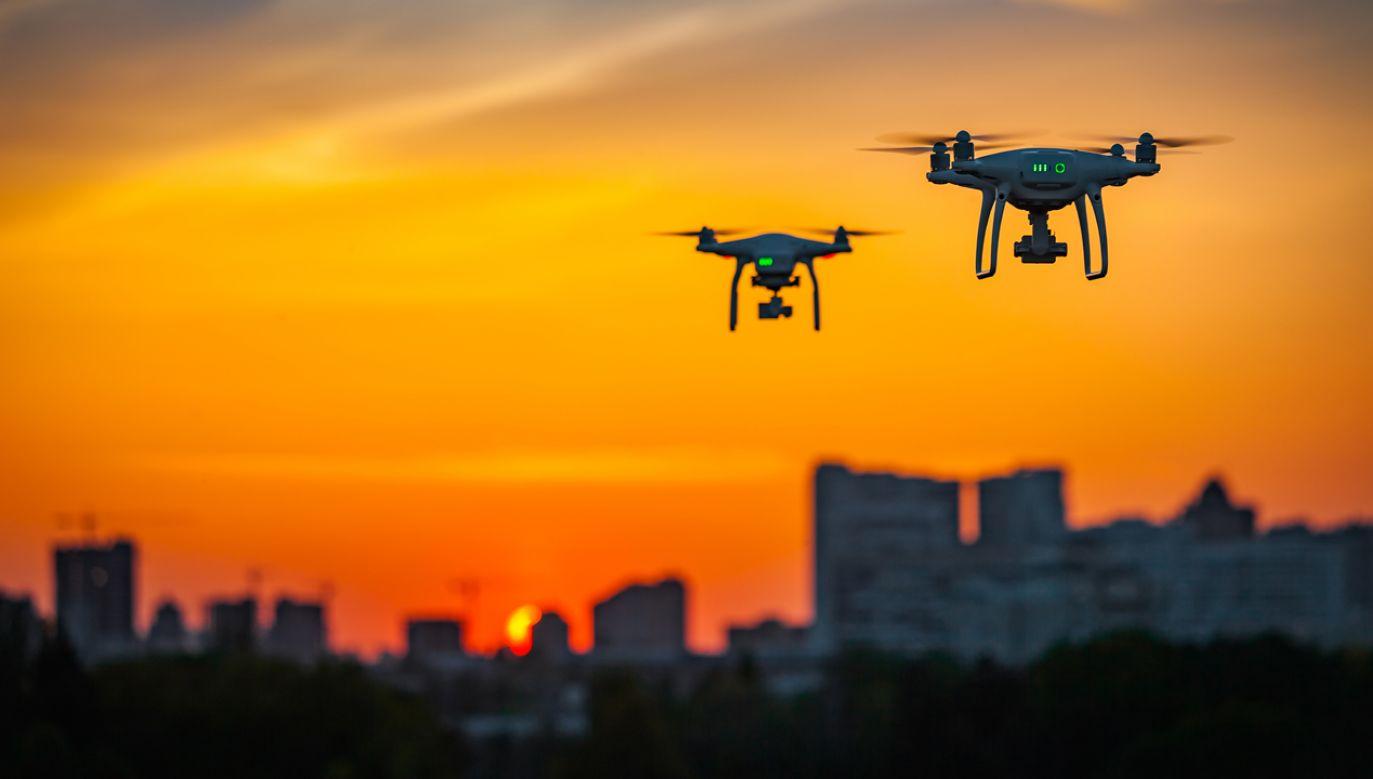 Dwa izraelskie drony z materiałami wybuchowymi spadły na  południowe przedmieścia Bejrutu  (fot. Shutterstock)