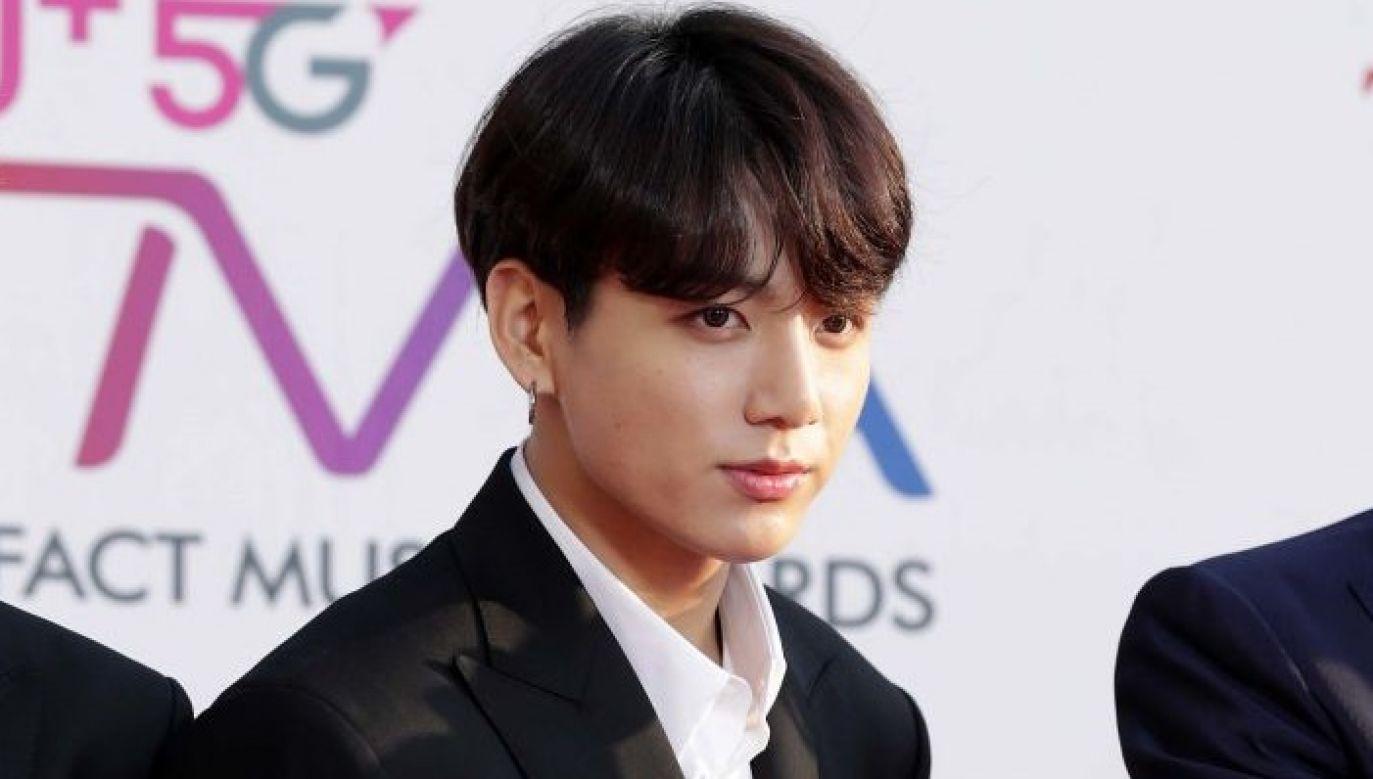 Jungkook, 20-letni piosenkarz koreańskiego zespołu BTS został uznany najprzystojniejszym mężczyzną świata w rankingu TC Candler (fot. Han Myung-Gu/WireImage)