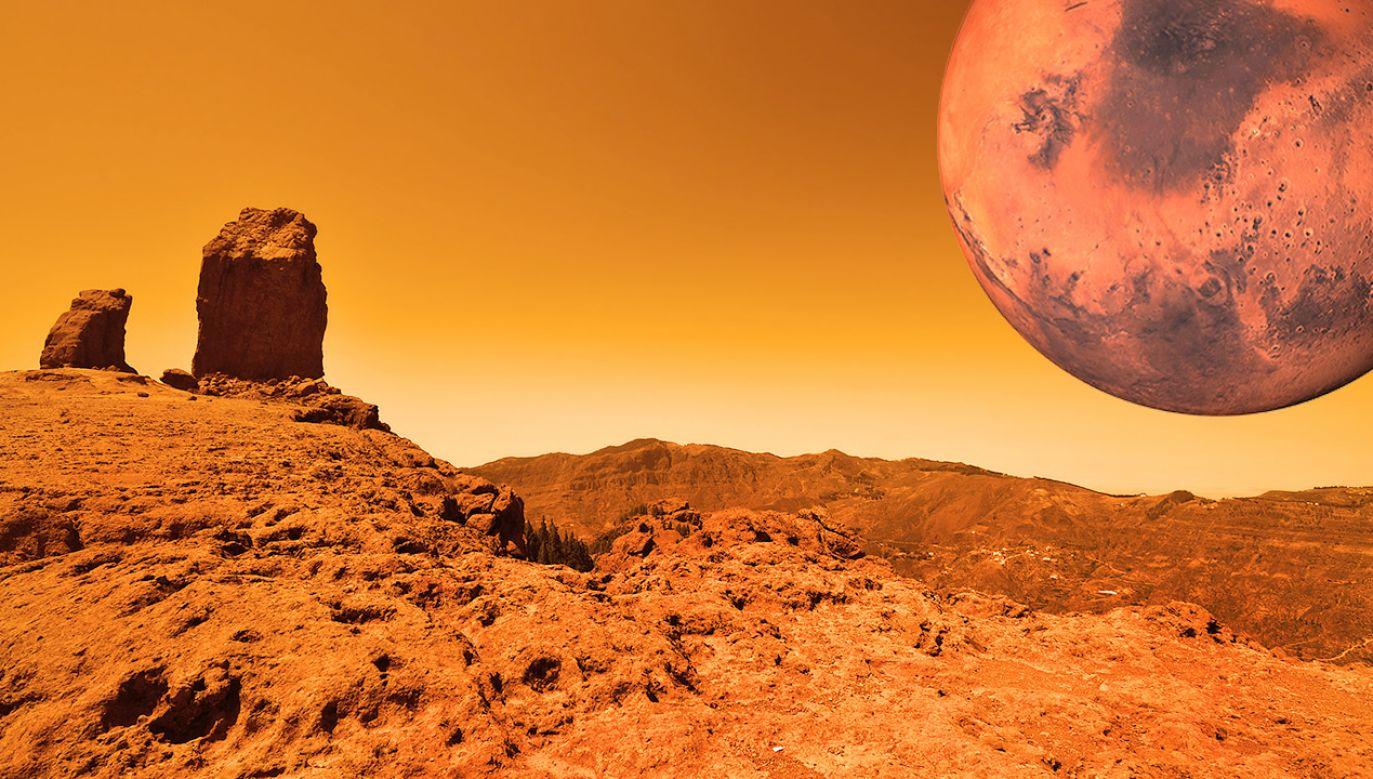 Mars jest aktywny sejsmicznie (fot. Shutterstock)