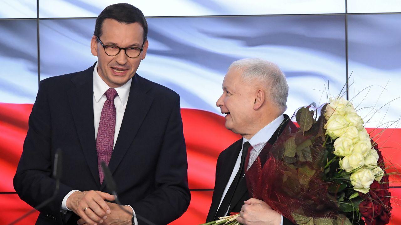 Polski Ład. Kto go zaprezentuje? Prezes PiS Jarosław Kaczyński i premier Mateusz Morawiecki? (fot. PAP/Radek Pietruszka)