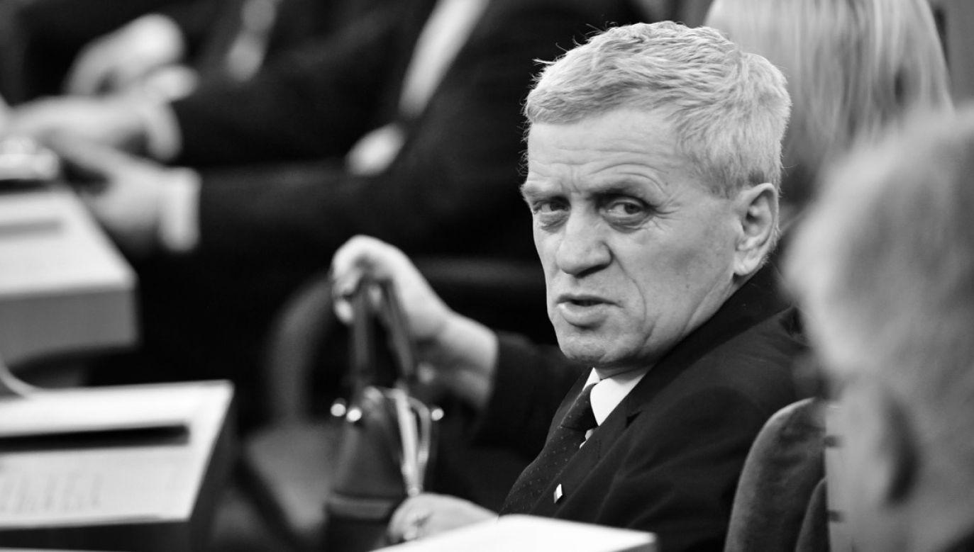 Były polityk miał 67 lat (fot. arch.PAP/Bartłomiej Zborowski)