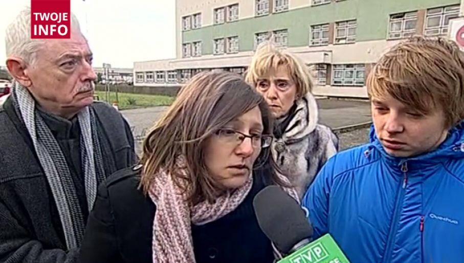 Rodzice i dziadkowie zmarłej Natalii (fot. TVP Info)