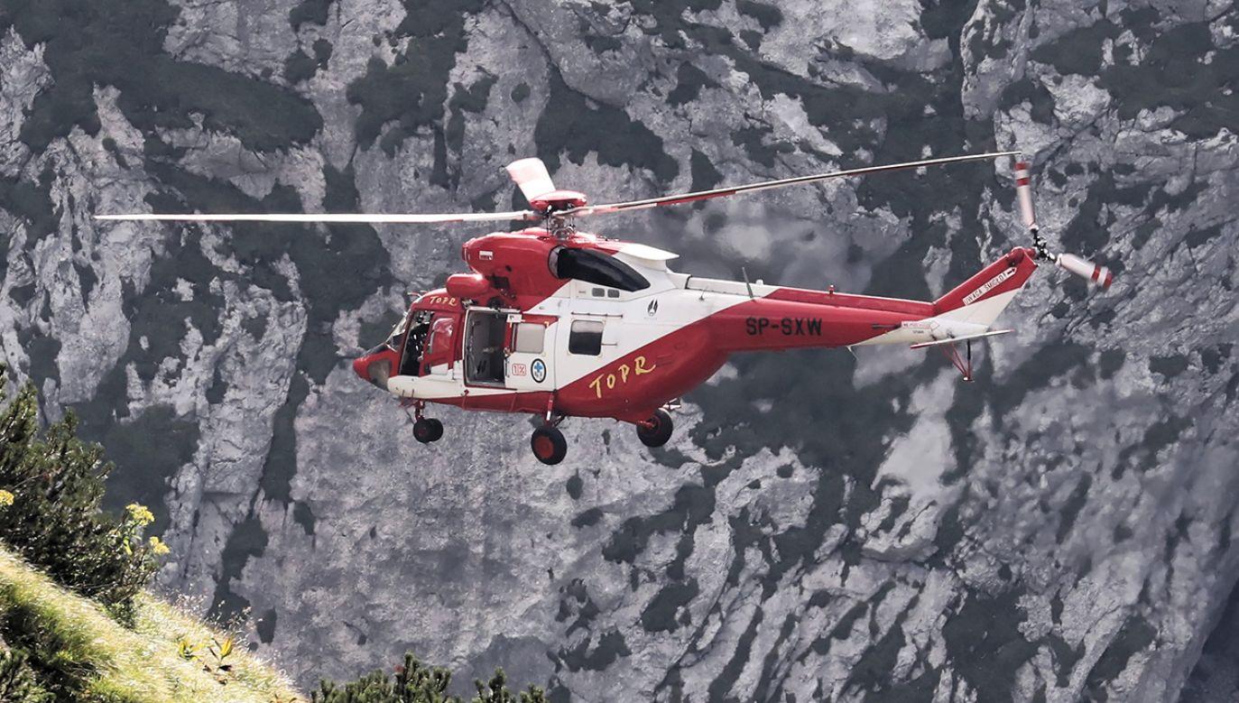 Poważny wypadek w Tatrach (fot. arch.PAP/Grzegorz Momot)
