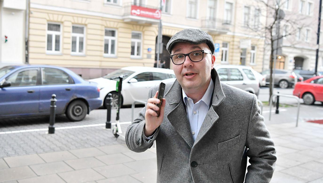 Robert Kropiwnicki (fot. PAP/Piotr Nowak)