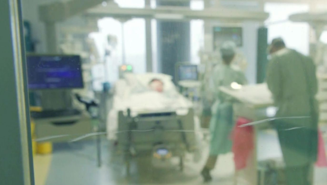 Brytyjski szpital nie chce podtrzymywać życia Polaka (fot.TVP Info)