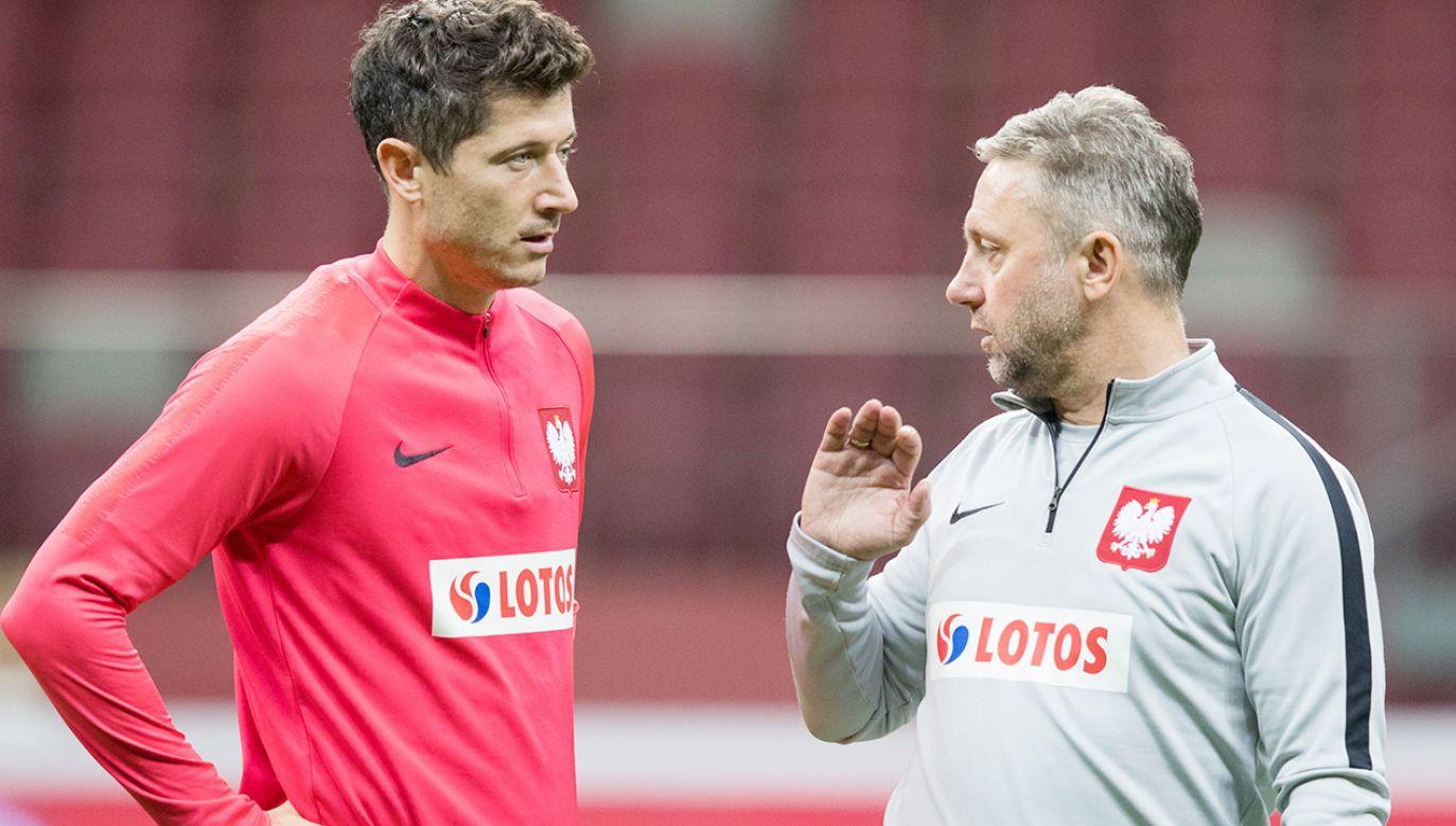 Według Lewandowskiego jego relacje z Brzęczkiem były poprawne (fot. Olimpik/NurPhoto via Getty Images)