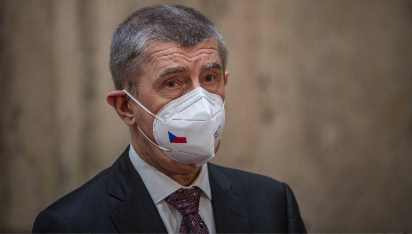 Premier Czech Andrej Babisz może liczyć na wsparcie prezydenta (fot. PAP/EPA/MARTIN DIVISEK)