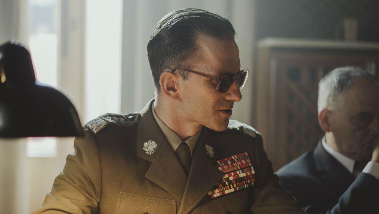 Marcin Bosak zagrał generała Wojciecha Jaruzelskiego, ówczesnego ministra obrony narodowej (fot. Stanisław Loba/TVP)