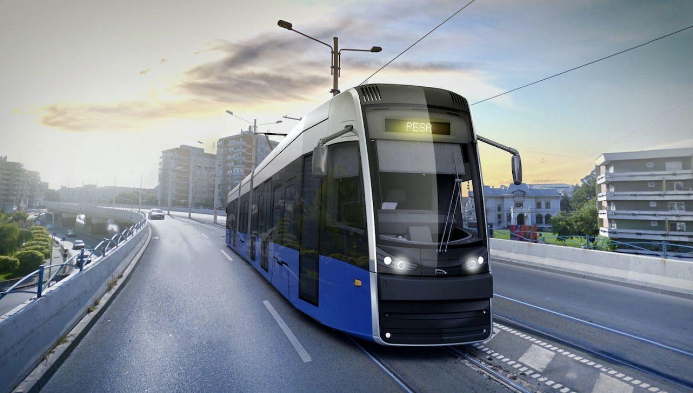 Pesa Bydgoszcz zawarła umowę na dostawę 17 tramwajów Twist (fot. FB/PESA Bydgoszcz SA)