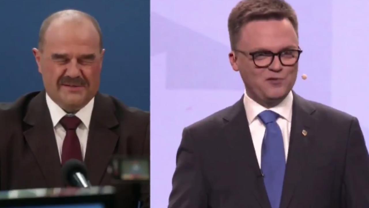 """Szymon Hołownia i wójt Wilkowyj jednym głosem: """"Wiemy jak to zrobić"""" (fot. twitter.com/Andruszkiewicz1)"""