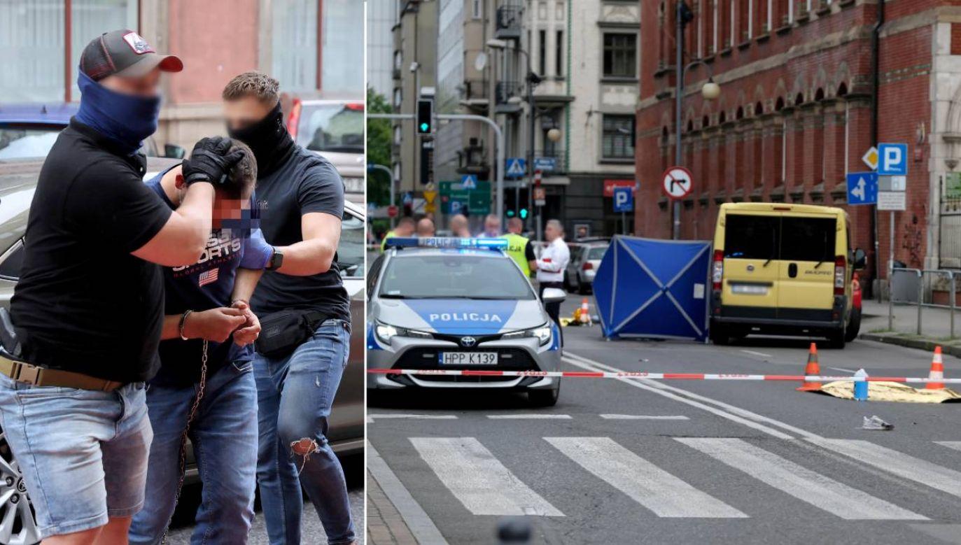 Nie wiadomo, jakie zarzuty usłyszy mężczyzna (fot. PAP/Hanna Bardo/Andrzej Grygiel)