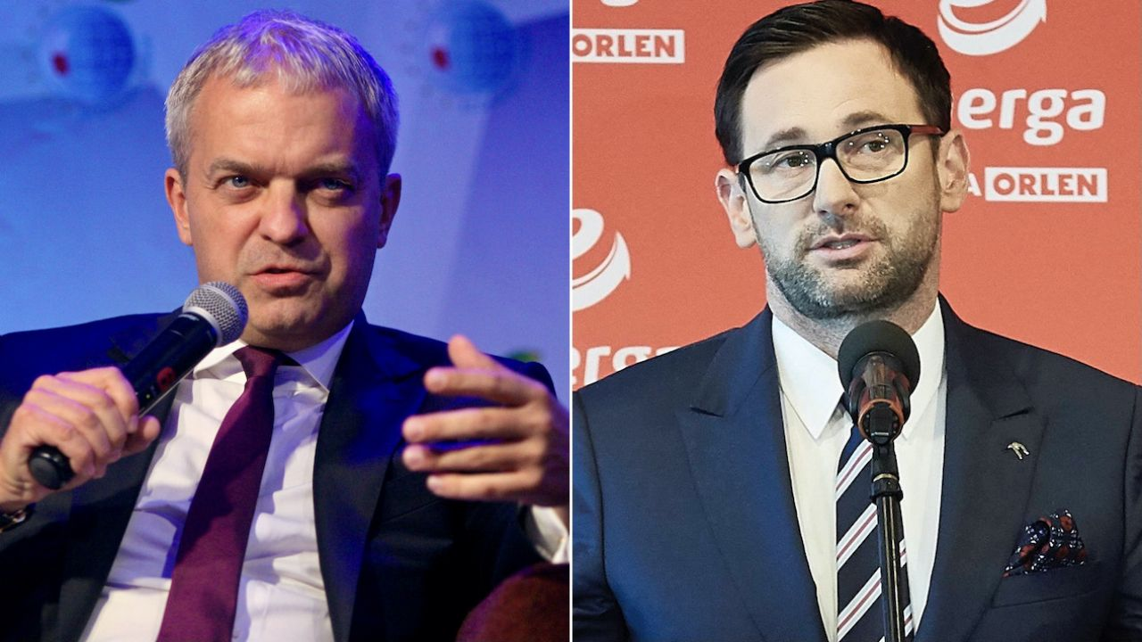 Jacek Krawiec nawiązuje do korupcyjnej afery Sławomira Nowaka (fot. arch.PAP/Grzegorz Momot/Adam Warżawa)